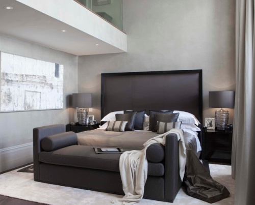 Bedroom with a Couch