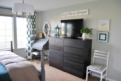 Elegant Bedroom with Two Dressers