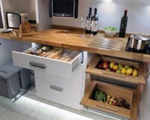 Elegant Kitchen Without a Pantry