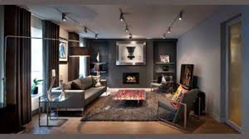 Elegant Living Room with Three Entrances
