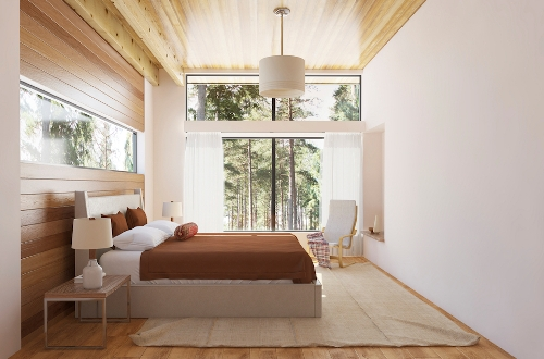 How to Arrange a Bedroom with a Large Window