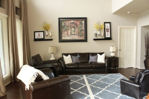 How to Arrange a Living Room with 2 Walls