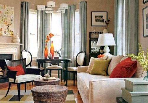How to Arrange a Living Room with a Bay Window