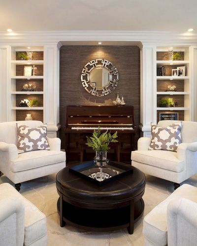 How to Arrange a Living Room with an Upright Piano