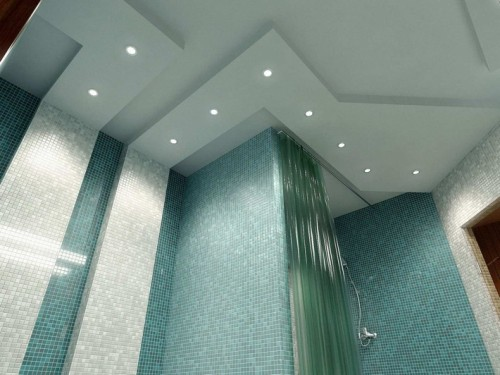 How to Decorate Bathroom Ceiling