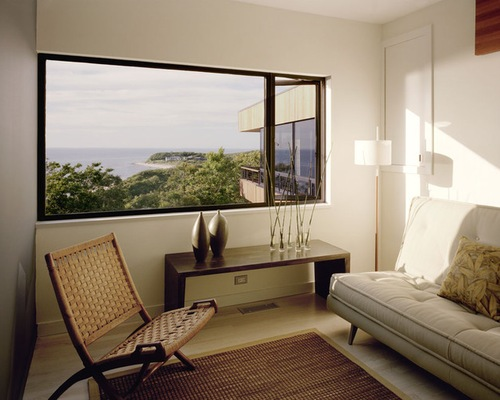 Modern Bedroom with a Futon