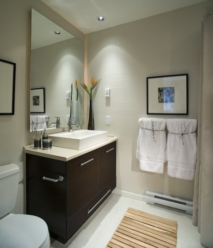 Organize Small Bathroom Design : How to organize a small bathroom counter ideas for