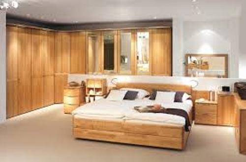 Stylish Bedroom with Big Furniture