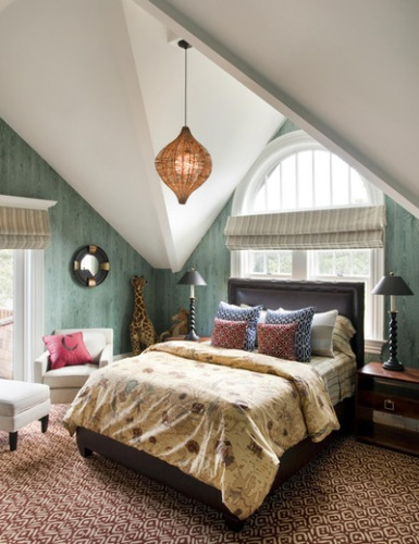 Stylish Bedroom with a Large Window