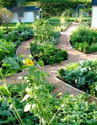 Traditional Vegetable Garden