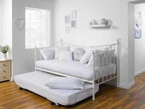 White Bedroom with a Daybed