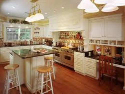 classic Kitchen Without a Pantry