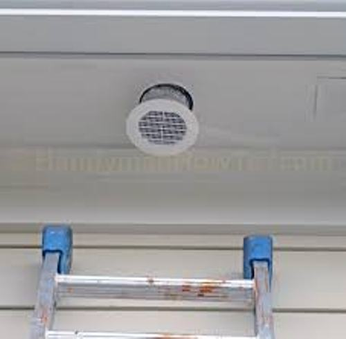 Bathroom Fan Exhaust Vent