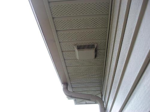 How To Install A Bathroom Fan Vent In The Soffit 5 Easy Ideas Home Improvement Day