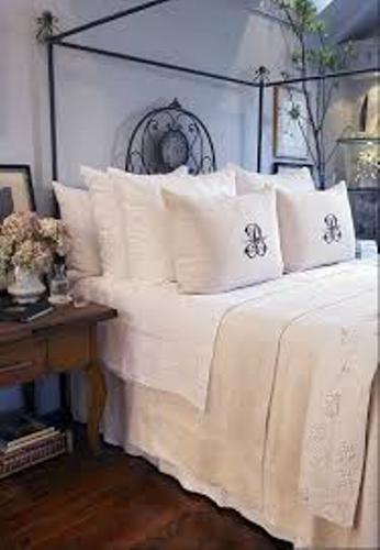 Classic Pillows on a Cal King Bed