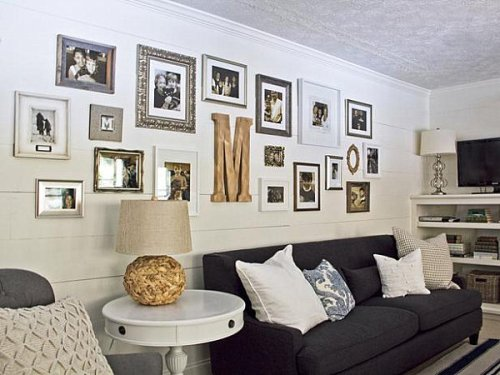 Decorative Pictures on Wall Different Size