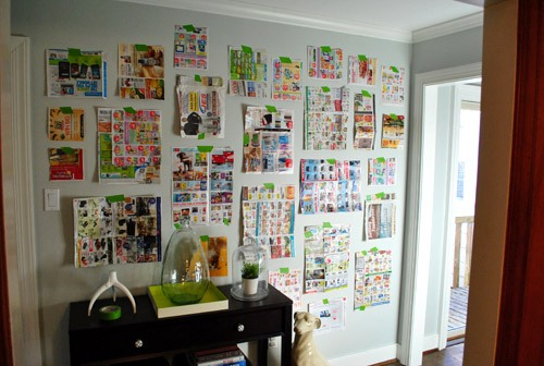 How To Arrange Pictures On A Wall Without Frames 5 Tips