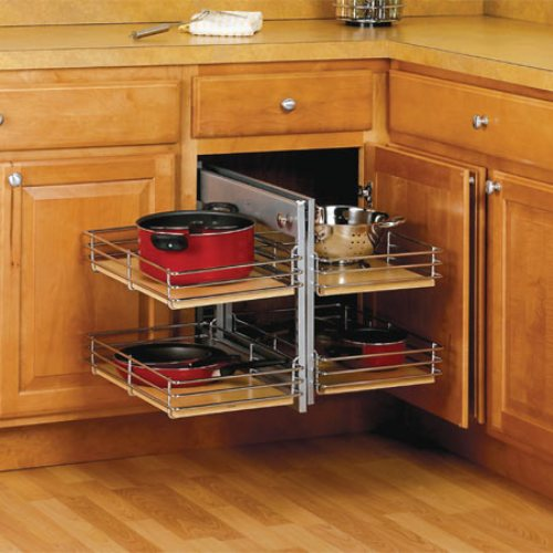 Kitchen Cabinets Small Space: How To Organize Deep Corner Kitchen Cabinets: 5 Tips For