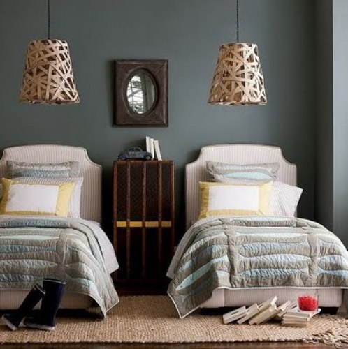 Fabulous Pillows on a Twin Bed