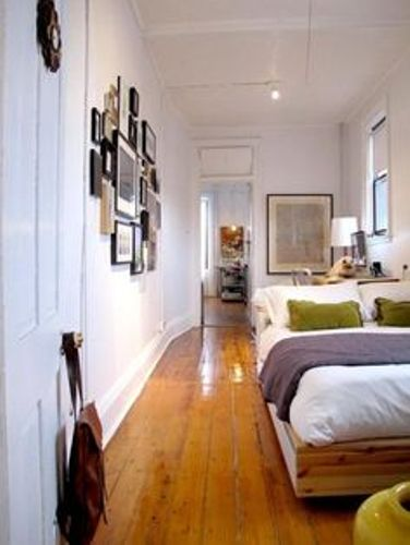 Long Narrow Bedroom Pic