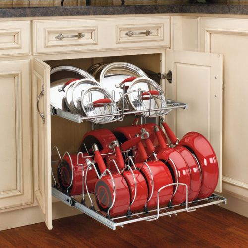 Modern Kitchen Cabinets Pots and Pans