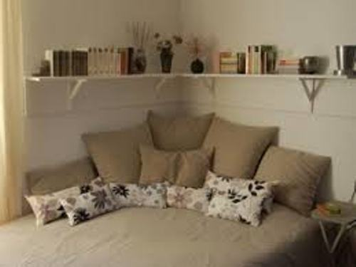 Perfect Pillows on a Corner Bed