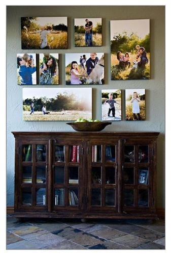Rustic Pictures on Wall Different Size