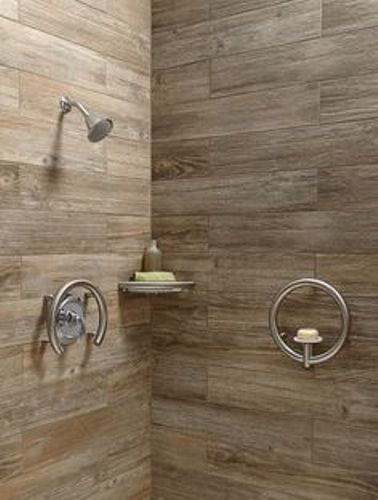 Shower Grab Bars on Tile