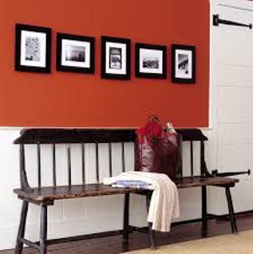 Stylish Family Photos on Hallway Walls