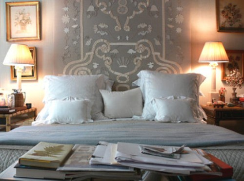 White Bed Pillows On King Bed