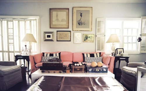 Elegant Pictures Above Couch
