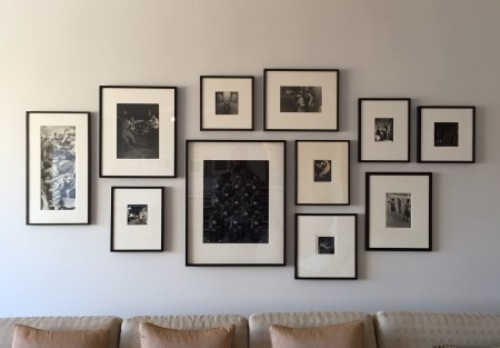 How to Arrange Pictures Above Couch