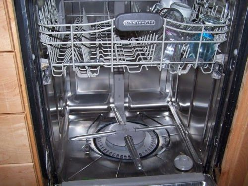 Kitchenaid Dishwasher with White Vinegar