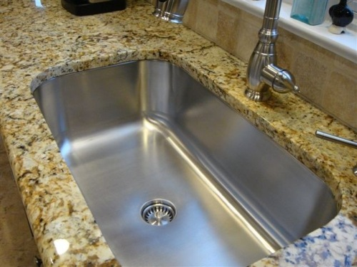 Nice Bathroom Faucet on Granite Countertop
