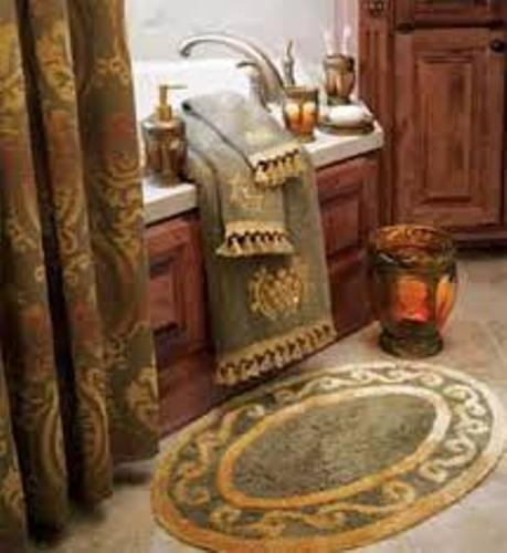 How to arrange decorative bath towels 5 ideas to create for Bathroom ideas for towels