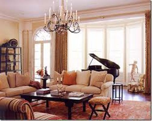 Furniture Around a Baby Grand Piano Design