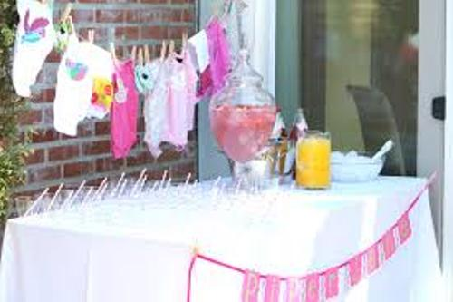 Furniture for a Baby Shower Pic
