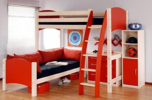 Furniture in Child's Bedroom
