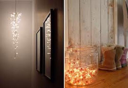 How to Arrange Christmas Lights in Bedroom