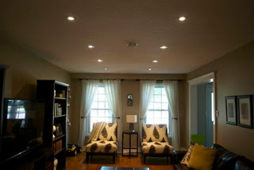 How to Arrange Pot Lights in a Living Room Style