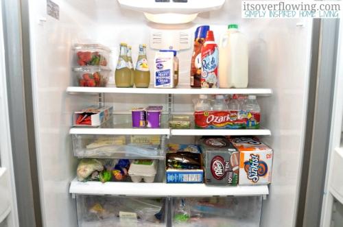How to Arrange Refrigerator Shelves Ideas