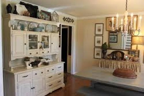 How To Arrange A Dining Room Hutch In White