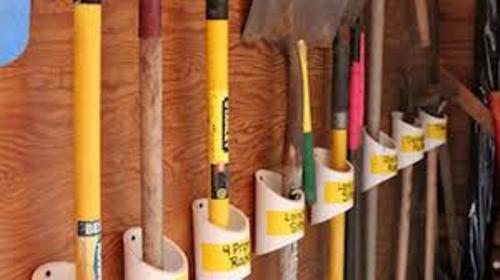 How to Organize Garden Tools in Garage