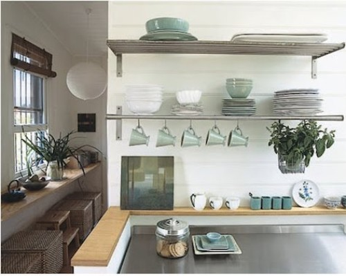 How to Organize a Kitchen Without Cabinets Pic