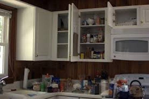 How to Organize a Kitchen Without Pantry Pic