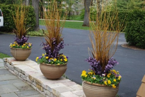 Outdoor Flower Pots Ideas