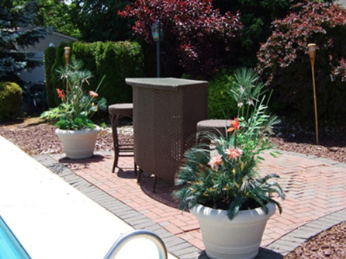 Outdoor Flower Pots Pic