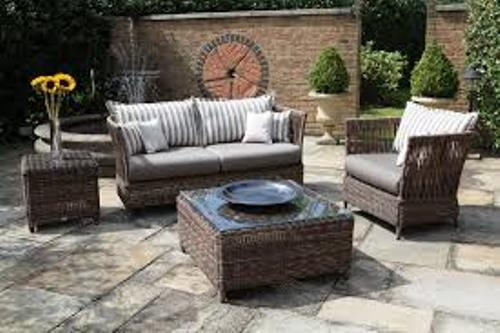 Patio Furniture on a Deck Outdoor