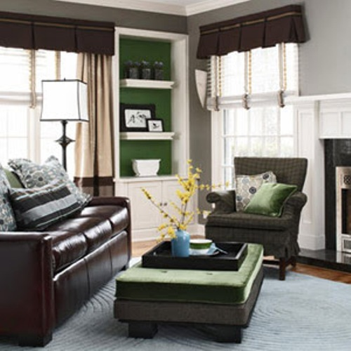 how to arrange furniture diagonally pics