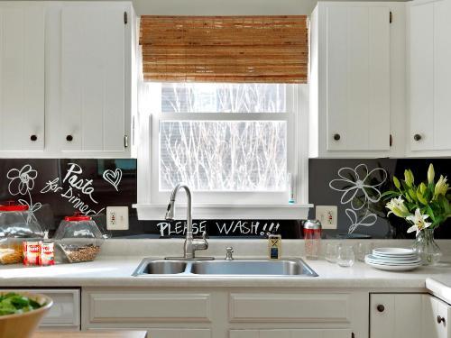 Backer Board for Kitchen Backsplash in Black